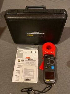 AEMC 6416 (2141.01) Clamp-On Earth Ground Resistance Tester Kit w/ Case