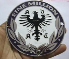 Eine Million Germany car grill badge emblem logos metal enamled car grill badge