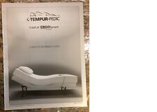 TEMPUR-PEDIC ERGO SYSTEM ADJUSTABLE plus BASE and Queen Mattress
