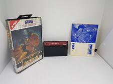 Master of darkness | Sega Master System | AUS SELLER |SMS