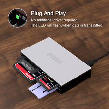 All-in-1  Writer SmartMedia SM Card Reader Multi for SD xD CF Adapter Memory