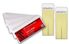 Wachspatrone Nachfüll Set Bianco mit Vliesstreifen für Wachsgerät Wachswärmer