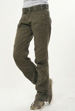 Womens Ladies Straight Slim Camo Pants Cargo Military Army Jeans Trousers #6398