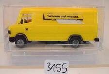 Praliné 1/87 Nr. 84313 Mercedes Benz 507 D Kasten Deutsche Bundespost OVP #3155