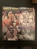 2019-20 Panini Illusions Basketball NBA Factory Sealed Mega Box 🏀🏀🔥🔥