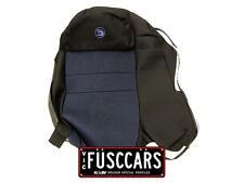 Genuine HSV Brand New Cloth Rear Seat Cover Black/Blue  VT VX VY VZ