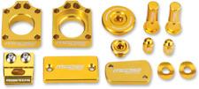 Moose Racing Yellow Anodized Bling Pack Suzuki 11-18 RMZ250 RMZ450 Engine Plugs