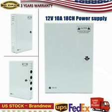 12V Dc Ptc Fuse 10A 18Ch Cctv security camera power supply box 18 Ch Channel