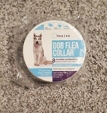 Healex Dog Flea and Tick Collar Treatment and Prevention One Size Fits All