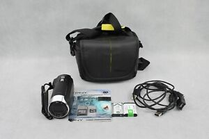 Sony HDR-CX405 Handycam Digital Camcorder 16:9 HD Used + New Micro SD Card