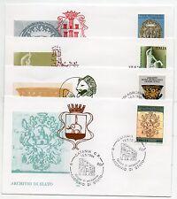 1994 REPUBBLICA BUSTE FDC SERIE TESORI D' ARTE V/1094