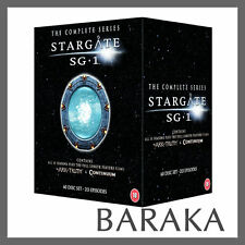Stargate SG1 Complete Series 1-10 & The Ark of Truth/Continuum DVD Box Set New