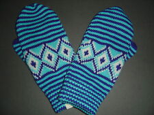 ABERCROMBIE HOLLISTER BLUE WHITE GLOVES MITTENS - 209