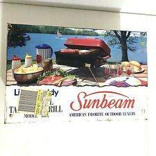 Vintage Sunbeam Little Buddy Charcoal Tabletop Grill 8104