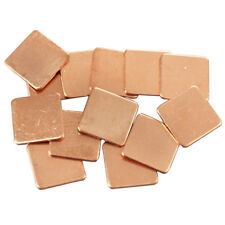 Thermal Pads 15x15x1mm Heatsink Copper Shim  for Laptop GPU CPU VGA 10pcs