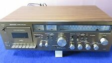 Panasonic RA- 6500 Integrated Stereo Receiver with cassette deck PROJECT AS IS