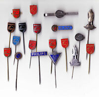 Vintage PHILIPS RADIO TELEVISION LOGO stick pin badge brooch 1960s Emblem