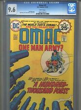 Omac #3 Cgc 9.6 (1975) Jack Kirby White Pages Only 4 Higher @ 9.8