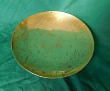 Vintage Chinese Engraved Brass Bowl