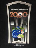 Disney Countdown to the Millennium Pin #74 Peter Pan 1953
