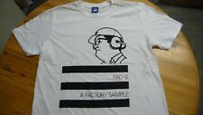 FAC 251,T-Shirt,FAC 2.A Factory Sample,Rare EP, Large,White.Postpunk,Joy Divisio