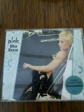 PINK: WHO KNEW / DISCONNECTED. CD 2006