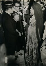 photo Mariage Edith Piaf Théo Sarapo 1962 Orthodoxe rite argentique époque