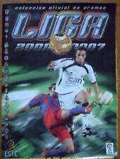 Album de futbol 2006/07 ESTE - Con 423 cromos (33 fichajes 20 colocas y 24 bajas