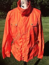 NWT: $497.50 ~ Ralph Lauren RLX Orange Nylon Golf Jacket  W/ Belt ~ SZ: L