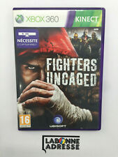 XBOX 360 KINECT JEU VIDEO FIGHTERS UNCAGED - COMPLET