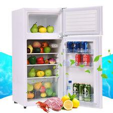 Double Doors 3.4 cu ft. Unit Compact Mini Refrigerator Freezer Cooler Fridge