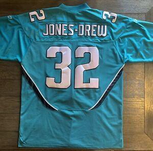 Maurice Jones-Drew Jacksonville Jaguars Reebok On Field NFL Jersey Teal Size 56