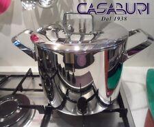 Sambonet Menu Pentola Alta 20 cm c/coperchio Acciaio Inox-Stock Pot