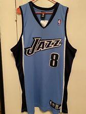 AUTHENTIC Deron Williams Adidas Utah Jazz NBA Basketball Jersey 48 Brand New