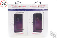 Lot of 2 - Armor Edge Screen Protector for Samsung Galaxy S9+ Plus OB