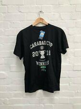 Manchester City FC Men's Club Carabao Cup Final T-Shirt - Small - Black - New