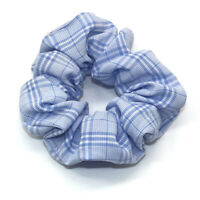 Sweet Plaid Hair Ring Elastic Rubber Bands Scrunchie Makeup Yoga Hair Accessory