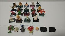 Digimon Morinaga Mini Figure 19 Set Digital Monster Lot Graymon Devimon