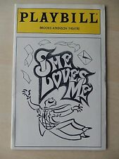 May 1994 - Brooks Atkinson Playbill - She Loves Me - Boyd Gaines - Sally Mayes