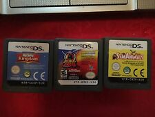 SimAnimals & My Sims Kingdom + KUNG ZHU Nintendo DS DSi Lite LOT OF 3 WORKING!