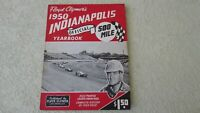 1950 Indianapolis Indy 500 race history yearbook by Clymer J. Parsons wins Offy