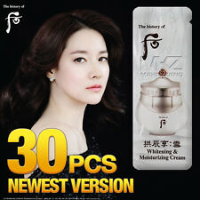 The history of Whoo Gongjinhyang Whitening & Moisturizing Cream 30pcs Newest Ver