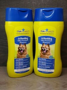 FURminator deShedding Ultra Premium Shampoo  For Dogs Set 251ml X 2 Twin Pack