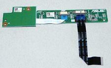 Power Taste Platine G60VX PWRSW Board Rev:2.0 für Asus G60V, G60J Notebooks