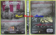 DVD film L'OFFENSIVA DELLE ARDENNE Le grandi battaglie del 900 SIGILLATO no vhs