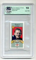 Wayne Rooney 2003 Campioni Futuro Italian Rookie Card PGI 10