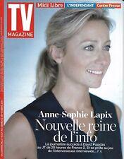TV MAGAZINE N°22720 27/08/2017   ANNE-SOPHIE LAPIX/ PUJADAS/ KOH-LANTA FIDJI