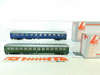 BU701-1# 2x Lima H0 Personenwagen DB NEM KK: A4üm + B4üm, ohne Achsen, s.g+(OVP)