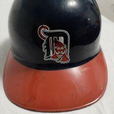 Vintage DETROIT TIGERS Souvenir Batting Helmet Orange Navy Blue Sports Products