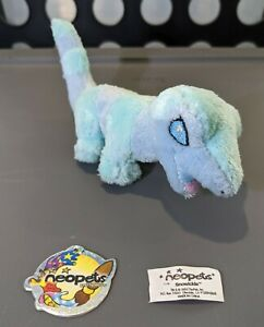 """Snowickle Petpet: Neopets Vintage 4"""" Plush (2004 - Snap Mfg #70100, Limited Too)"""
